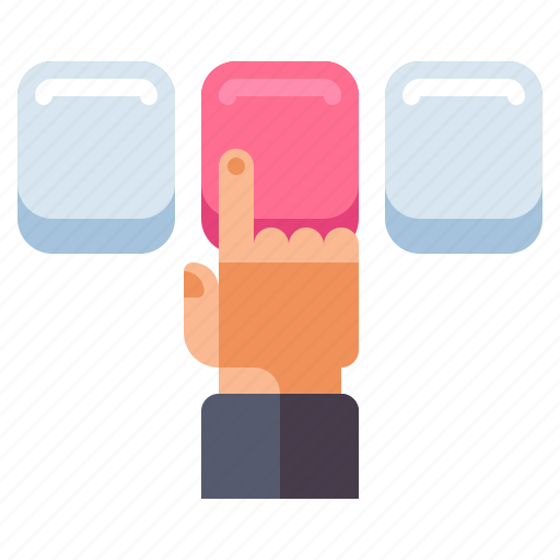 Click, finger, press, ux and ui icon - Download on Iconfinder