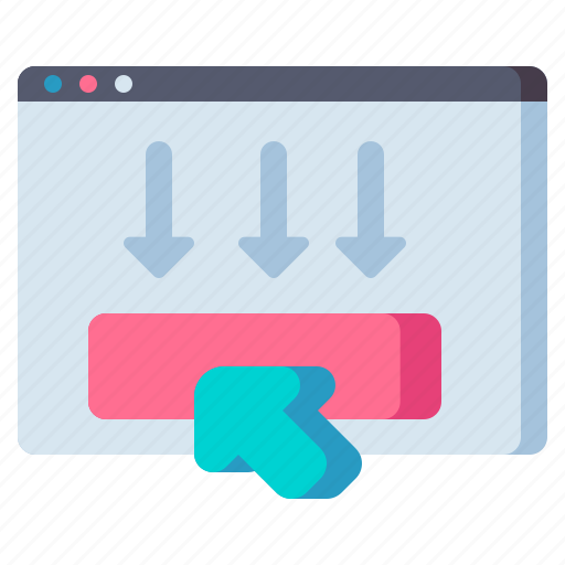 action, call, cta, to, ux and ui icon