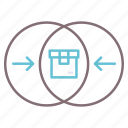 minimum, mvp, product, viable icon