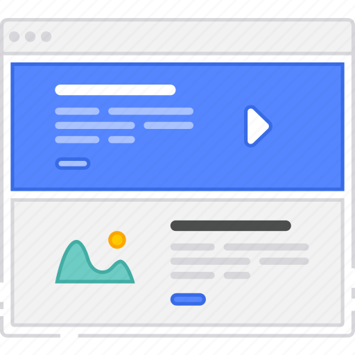 browser, card, flowchart, home, homepage, rows, sitemap, wireframe icon