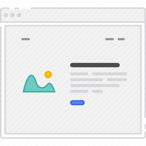 browser, card, flowchart, home, homepage, image, sitemap, wireframe icon