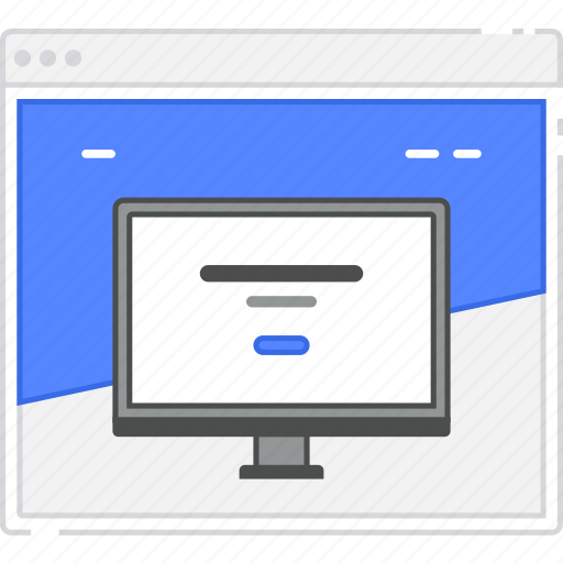 browser, card, flowchart, homepage, landing, page, sitemap, wireframe icon