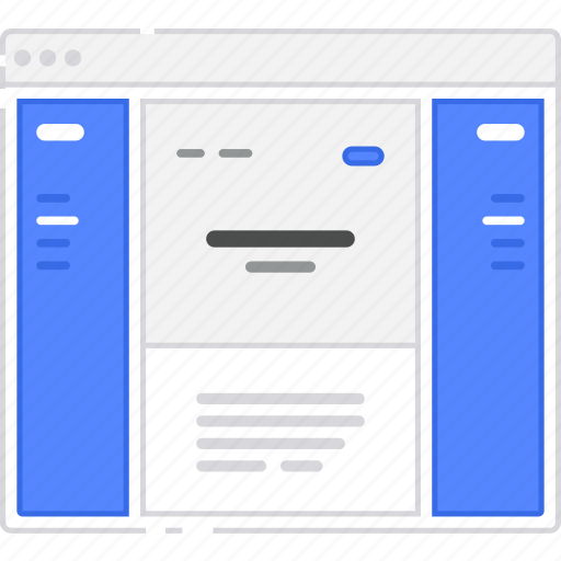 both, browser, card, cards, flowchart, icon, mini, mockup, player, scheme, sidebar, sitemap, user flow, ux, web, website, wireframe icon