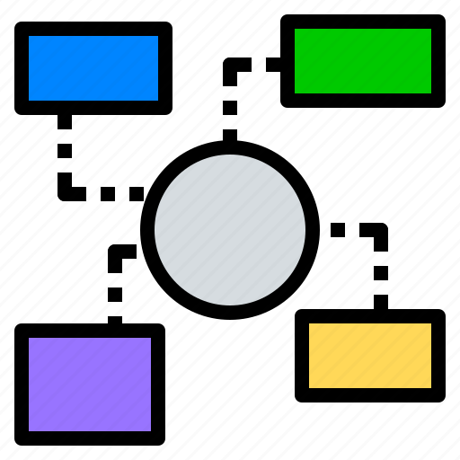 category, chart, connecting, map, mapping, mindmap icon