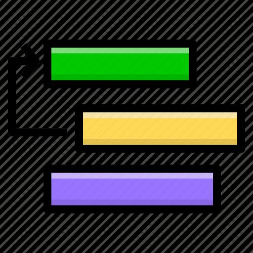 filter, list, ordering, priority, sort, sorting icon