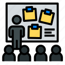 conference, meeting, meetup, present, ux, workshop icon