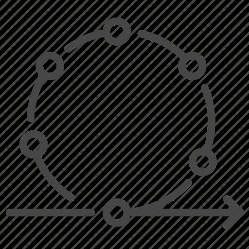 agile, loop, method, process, scrum, test, ux icon
