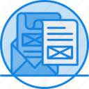concept, media, news, newsletter, newsletter icon, newspaper, paper, press, release icon