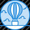 air balloonn, balloon, concept, creative, discover, icon, process icon