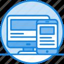 adaptive, development, devices, responsive, site icon icon