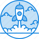 business, launch, missile, project, startup icon icon