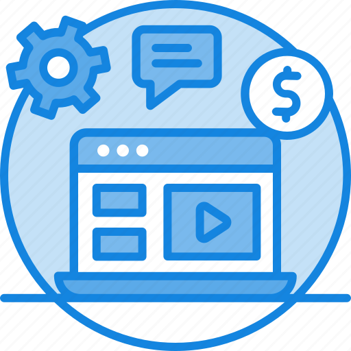 content, content management, media, picture, text, website icon icon