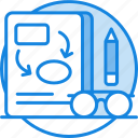 clipboard, management, planning, planning strategy icon, strategy icon