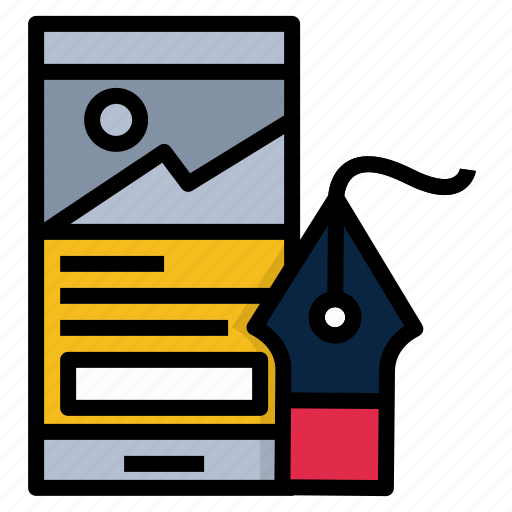 app, application, create, design, prototype, ui icon