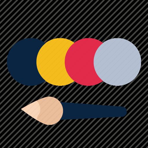 blush, color, palette icon