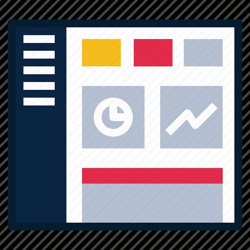 cms, dashboard, graph, progress, stat, statistic, ui icon