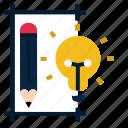 creative, design, draft, idea, pencil, sketch, ui icon