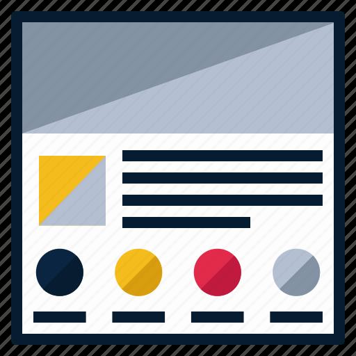 fi, lo, prototype, ui, usability, wireframe icon