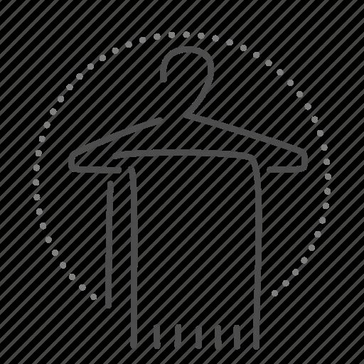 bathroom, clothes, hanger, wardrobe icon