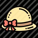 beach, fashion, hat, summer, women icon