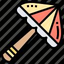 beach, protection, sun, sunshade, umbrella icon