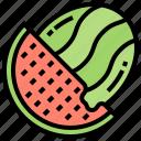 fresh, fruit, summer, sweet, watermelon