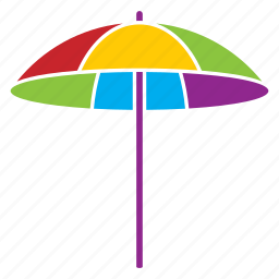 beach, holiday, protection, relaxation, summer, umbrella, vacation icon