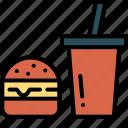 burger, cheeseburger, fast food, hamburger icon