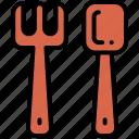 cutlery, fork, fork spoon, spoon