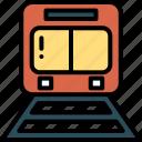 train, tram, transportation, vacation