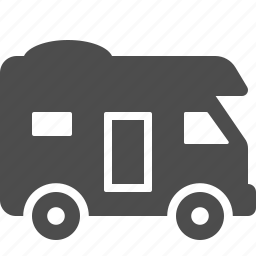 camper, mobile home, motorhome, rv, trailer, travel, vehicle icon