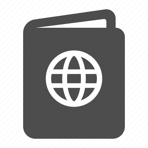 document, pass, passport, travel, vacation icon
