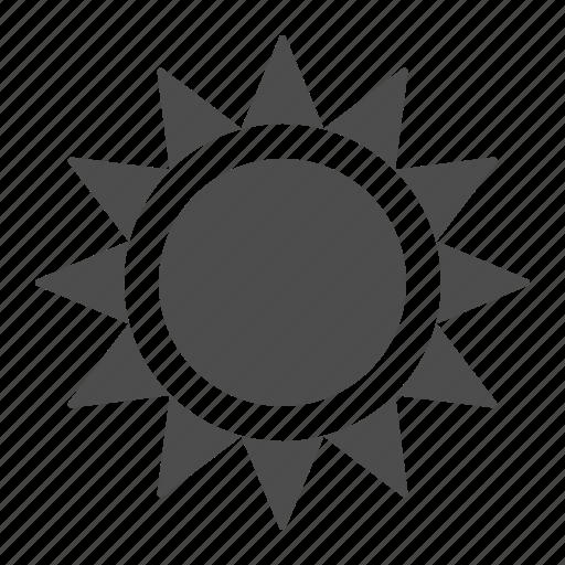 summer, sun, sunrise, sunset, weather icon