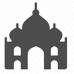 india, landmark, mausoleum, palace, taj mahal, tajmahal, tourism icon