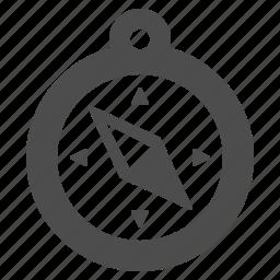 compass, gps, navigation, travel icon