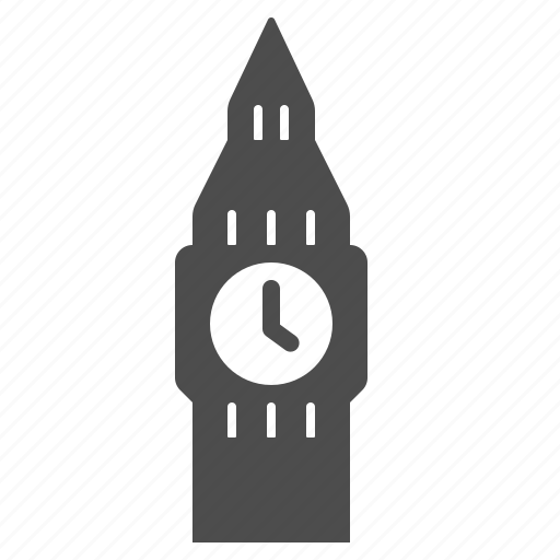 big ben, clock, england, landmark, landmarks, london, tower icon