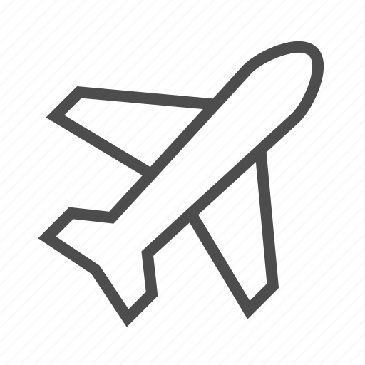 Plane, airplane, flight, fly, transport icon - Download on Iconfinder