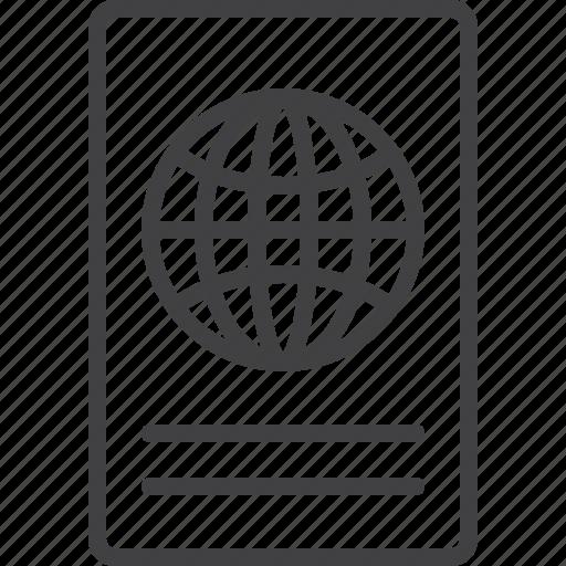 Id, international, passport, travel icon - Download on Iconfinder