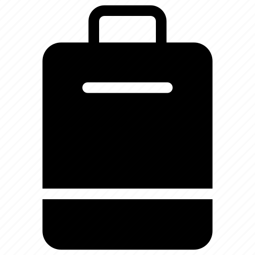 bag, baggage, luggage, suitcase, travelling, trunk icon