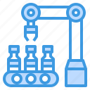 manufacturing, vaccine, factory, logistic, robotic, arm