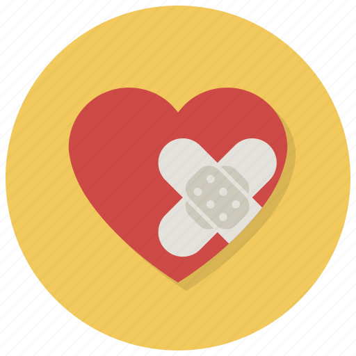 anguish, distress, heart, hurt, love, pain, valentine icon