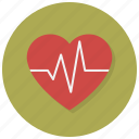 health, heart, love, passion, pulse, valentine, valentines icon