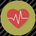 health, heart, love, passion, pulse, valentine, valentines icon