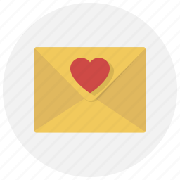 chat, email, heart, letter, love, mail, message icon