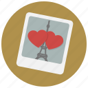 date, france, love, paris, photo, romance, valentine icon
