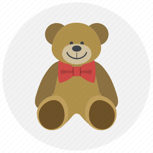 bear, gift, love, present, teddy bear, valentine, valentines icon