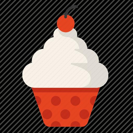 Cake, cupcake, heart, love, valentine icon - Download on Iconfinder