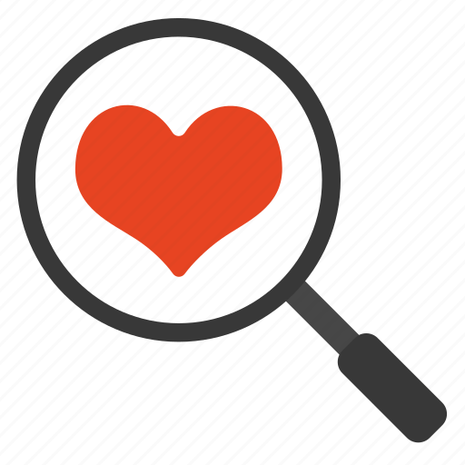 Care, heart, love, search, valentine icon - Download on Iconfinder