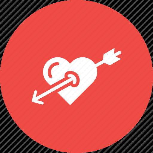 Achieve, cupid, heart, love, target, true, valentine icon - Download on Iconfinder