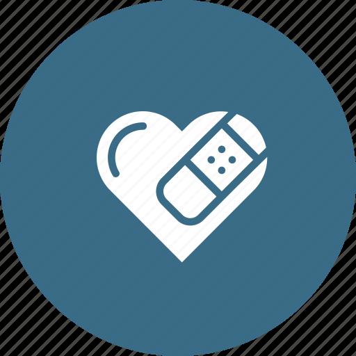Break, heal, heart, love, relation, sorry, valentine icon - Download on Iconfinder